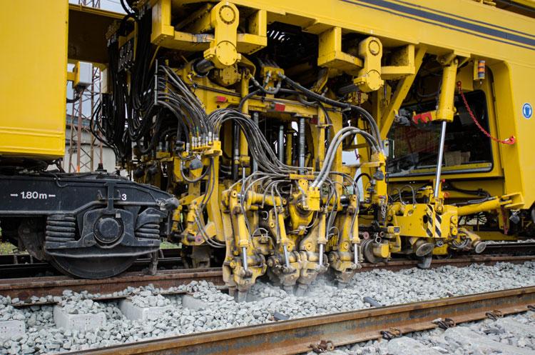 railway hydraulic equipment
